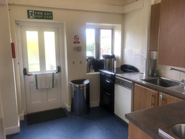 Hall kitchen